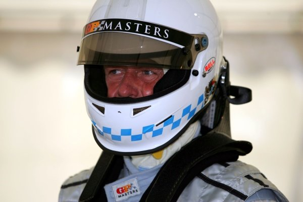 Christian Danner (GER). Grand Prix Masters Testing, Day One, Silverstone, England, 26 October 2005. DIGITAL IMAGE