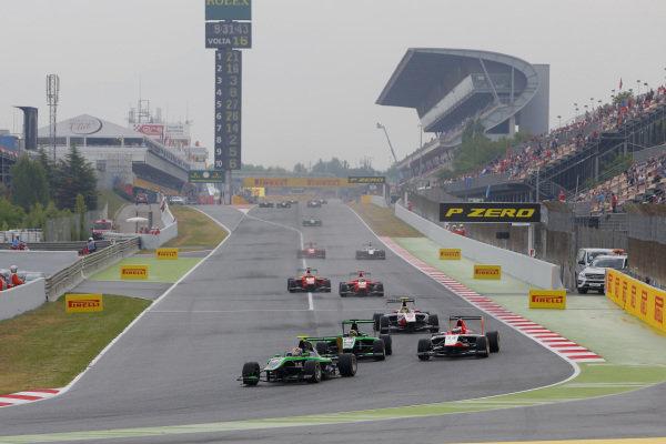 Richie Stanaway (NZL) Status Grand Prix. GP3 Series, Rd1, Barcelona, Spain, 9-11 May 2014.