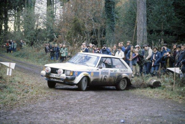 1980 World Rally Championship.Lombard RAC Rally, Great Britain. 16-19 November 1980.Henri Toivonen/Paul White (Talbot Sunbeam Lotus), 1st position.World Copyright: LAT PhotographicRef: 35mm transparency 80RALLY08