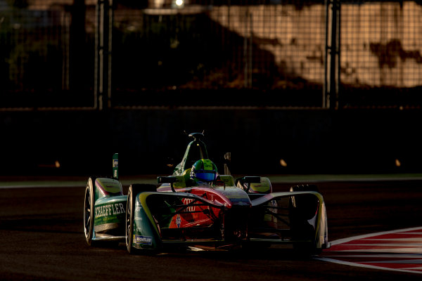 2016/2017 FIA Formula E Championship. Marrakesh ePrix, Circuit International Automobile Moulay El Hassan, Marrakesh, Morocco. Saturday 12 November 2016. Lucas Di Grassi (BRA), ABT Schaeffler Audi Sport, Spark-Abt Sportsline, ABT Schaeffler FE02.  Photo: Zak Mauger/LAT/Formula E ref: Digital Image _L0U6298