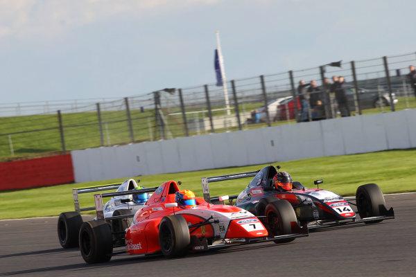 2017 MSA British F4 Championship, Silverstone, Northants, UK. 16th-17th September 2017 Alex Quinn (GBR) TRS Arden British  World copyright. JEP/LAT Images