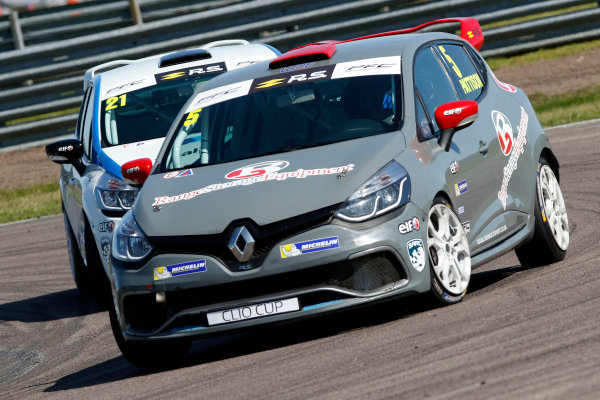 Renault Clio Cup Rockingham, 26th-27th August 2017, Lee Pattison (GBR) WDE Motorsport Renault Clio Cup World copyright.. JEP/LAT Images