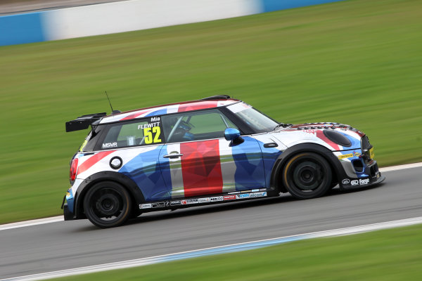JCW Mini Challenge  Donington Park, Leicestershire. 23rd - 24th September 2017. Mia Flewitt World Copyright: JEP/LAT Images