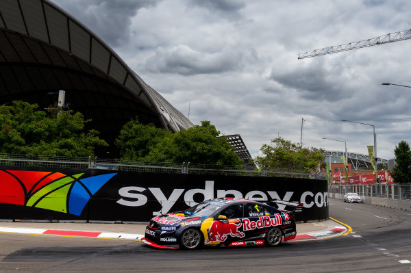 2015 V8 Supercars Round 14. Sydney 500, Sydney Olympic Park, Sydney, Australia. Friday 4th December - Sunday 6th December 2015. Jamie Whincup drives the #1 Red Bull Racing Australia Holden VF Commodore. World Copyright: Daniel Kalisz/LAT Photographic  Ref: Digital Image V8SCR14_SYDNEY500_DKIMG1065.JPG