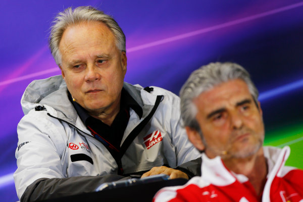 Albert Park, Melbourne, Australia. Friday 18 March 2016. Gene Haas, Team Owner, Haas F1, in the Team Principals Press Conference. World Copyright: Andrew Hone/LAT Photographic ref: Digital Image _ONZ2175