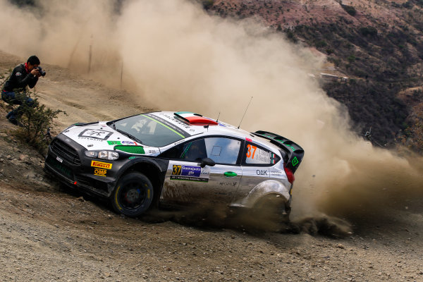 2016 FIA World Rally Championship, Round 03, Rally Mexico, March 3-6, 2016 Lorenzo Bertuelli, Ford, action Worldwide Copyright: McKlein/LAT