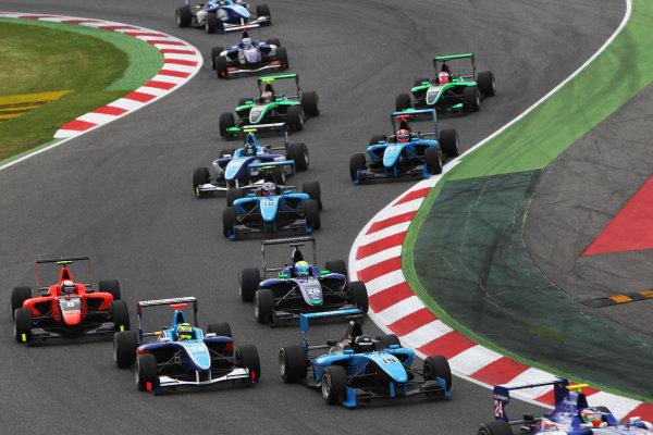 Circuit de Catalunya, Barcelona, Spain. 13th May 2012. Sunday Race. Robert Cregan (IRL, Ocean Racing Technology) Action.  Photo: Glenn Dunbar/GP3 Media Service. ref: Digital ImageCG8C4231.jpg