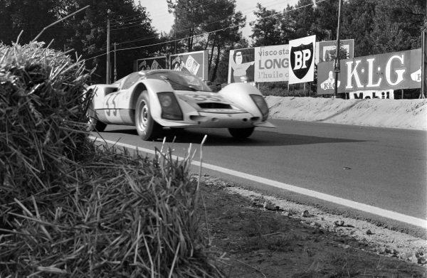 Peter Gregg / Sten Axelsson, Porsche System Engineering, Porsche 906/6 Carrera 6.