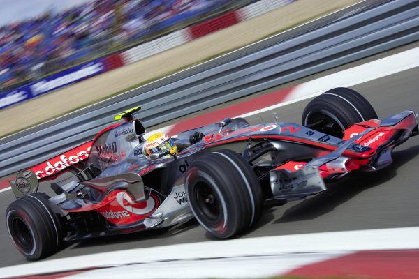 Lewis Hamilton, McLaren MP4-22 Mercedes.