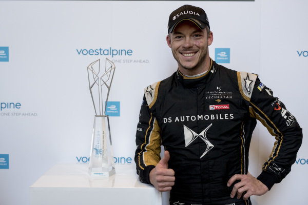 Voestalpine awarded to Andre Lotterer (DEU), DS TECHEETAH, DS E-Tense FE19