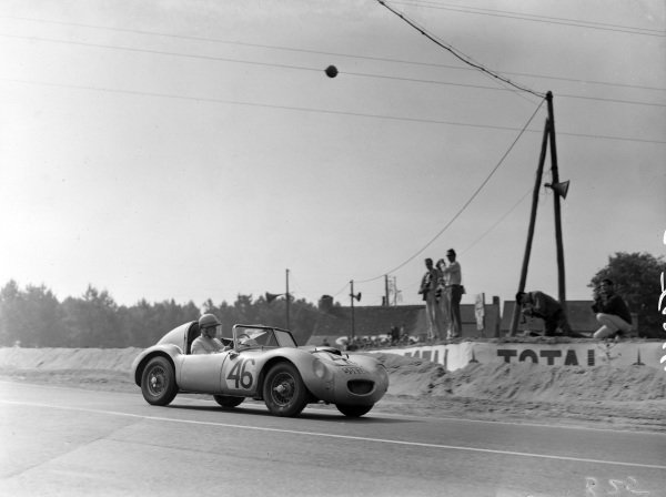John Dalton / John K. Colgate Jr, Donald Healey Motor Co Ltd, Austin-Healey Sebring Sprite - BMC A-series.