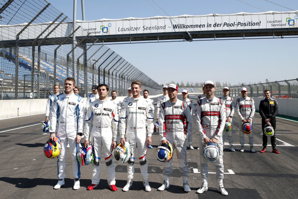 All former champions, Paul Di Resta, R-Motorsport, Bruno Spengler, BMW Team RMG, Marco Wittmann, BMW Team RMG, Mike Rockenfeller, Audi Sport Team Phoenix, René Rast, Audi Sport Team Rosberg.