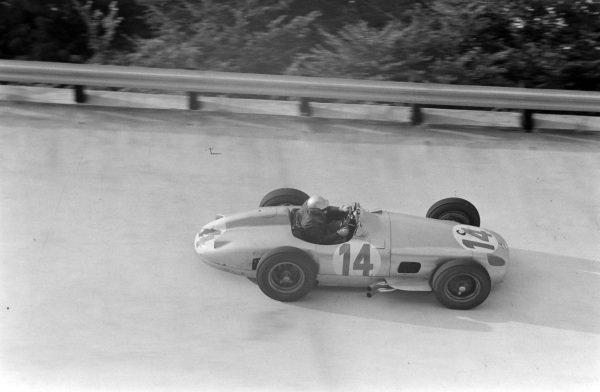 Piero Taruffi, Mercedes W196.