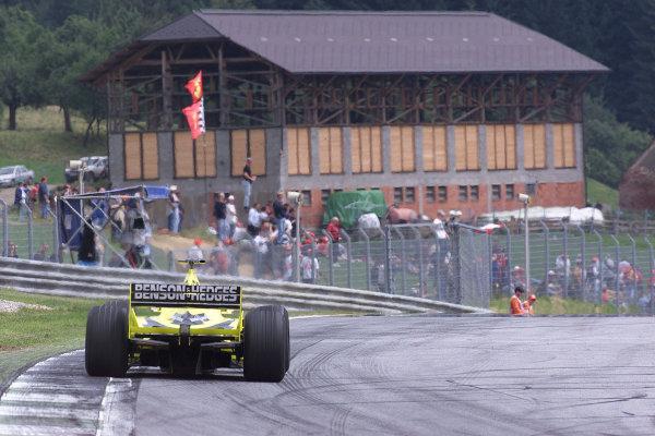 2000 Austrian Grand Prix.A1-Ring, Zeltweg, Austria.14-16 July 2000.Heinz-Harald Frentzen (Jordan EJ10 Mugen Honda).World Copyright - LAT Photographic