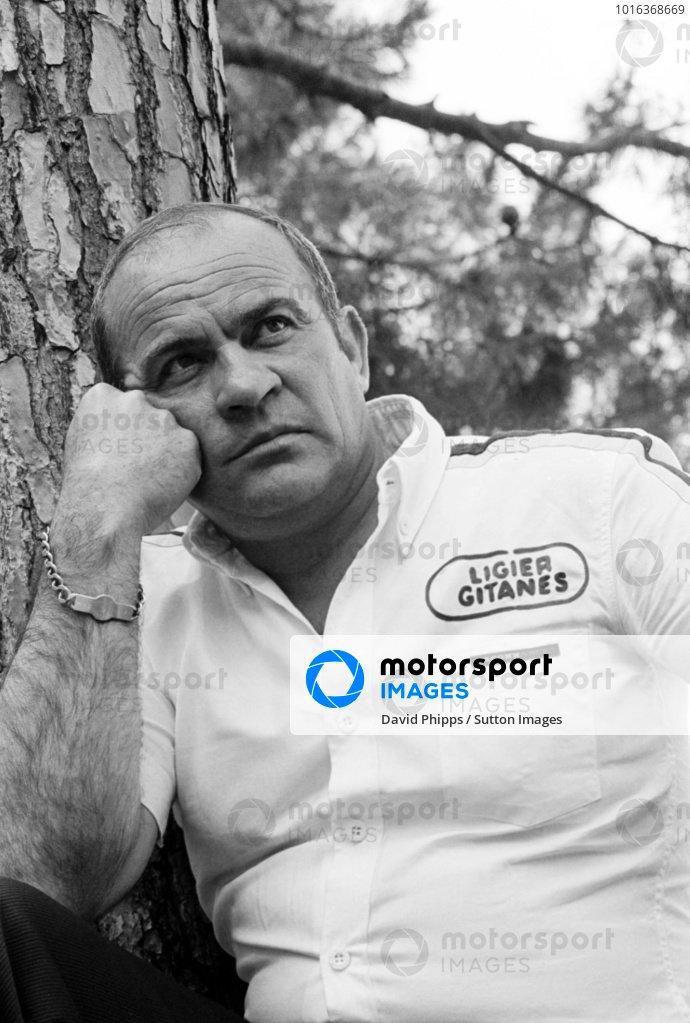 Guy Ligier (FRA) Ligier Team Owner.Monaco Grand Prix, Rd 6, Monte Carlo, Monaco, 22 May 1977.