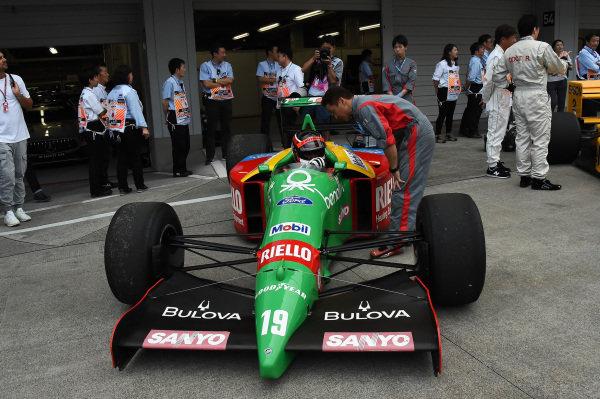Benetton B188 at Legends F1 30th Anniversary Lap Demonstration