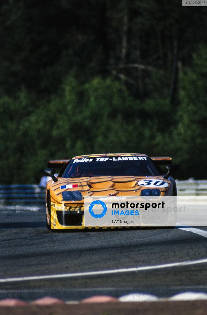 Jean-Luc Maury-Laribiére / Bernard Chauvin / Hervè Poulain, BBA Sport et Compétition, Venturi 600 LM.
