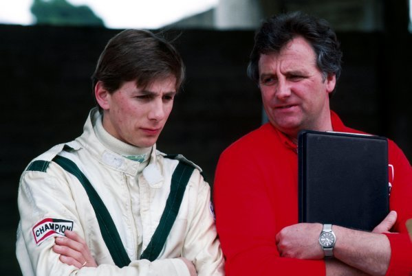 Johnny Dumfries (GBR) March (Left). 