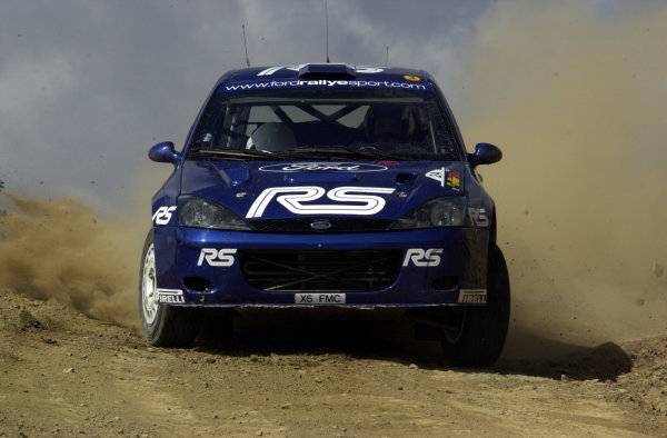 World Rally Championship, Cyprus Rally, April 18-21, 2002.Francois Duval in action on Stage 1, Leg 1.Photo: Ralph Hardwick/LAT