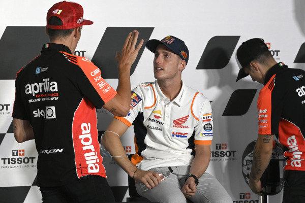 Pol Espargaro, Repsol Honda Team, Aleix Espargaro, Aprilia Racing Team Gresini
