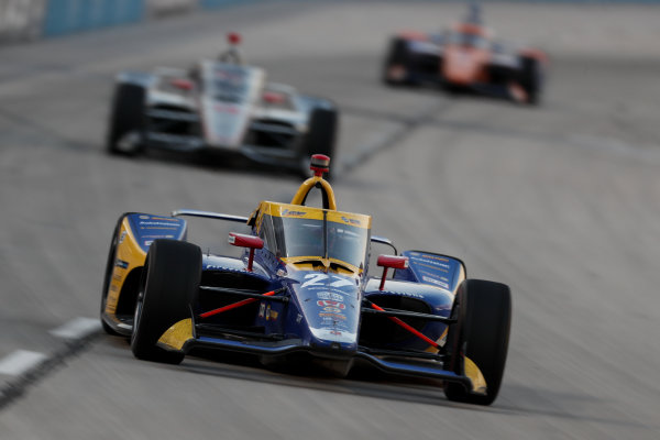 Alexander Rossi, Andretti Autosport Honda Copyright: Joe Skibinski - IMS Photo
