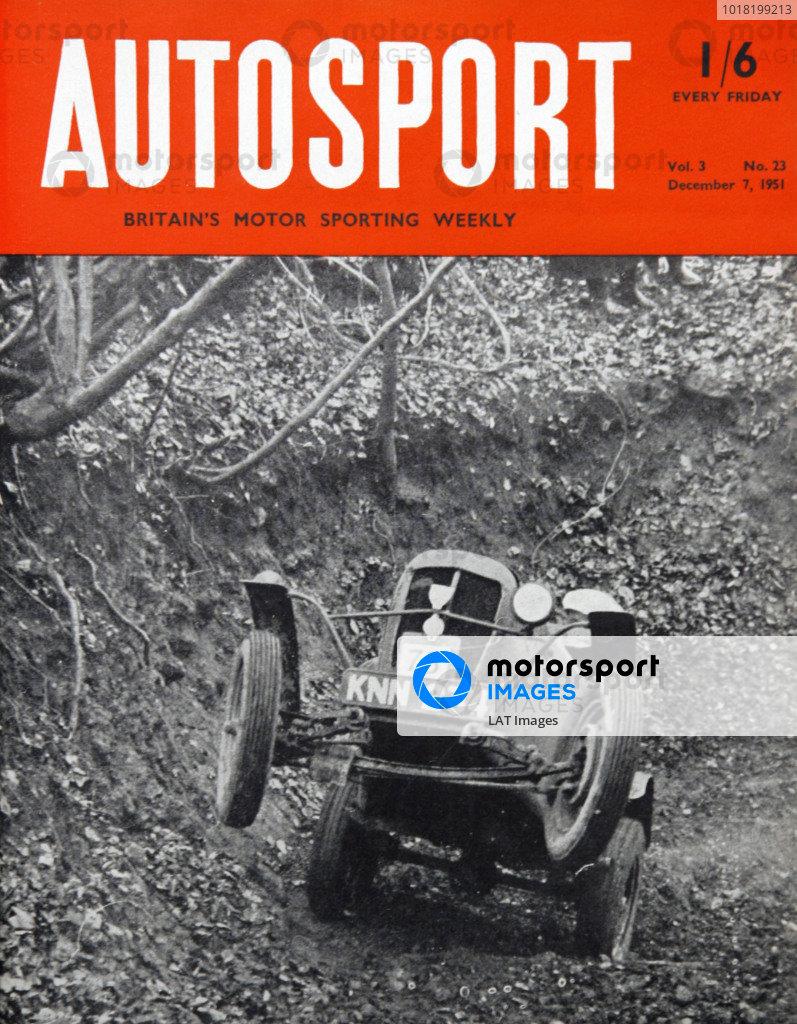 Autosport Covers 1951