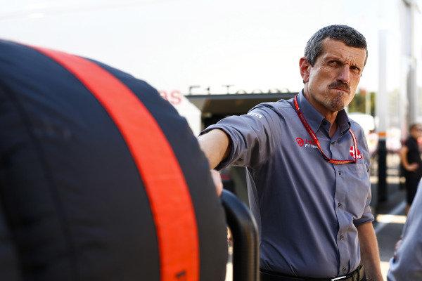 Guenther Steiner, Team Principal, Haas F1.
