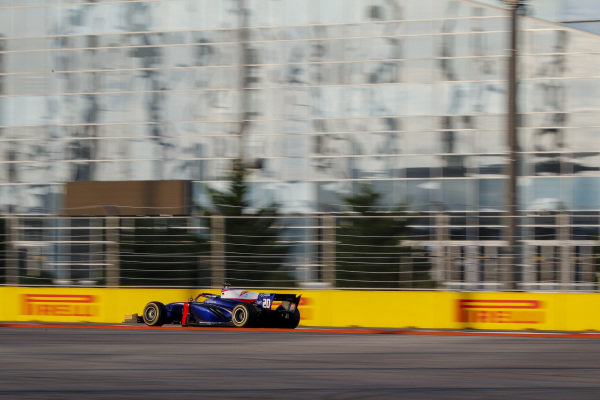 SOCHI AUTODROM, RUSSIAN FEDERATION - SEPTEMBER 28: Giuliano Alesi (FRA, TRIDENT) during the Sochi at Sochi Autodrom on September 28, 2019 in Sochi Autodrom, Russian Federation. (Photo by Carl Bingham / LAT Images / FIA F2 Championship)