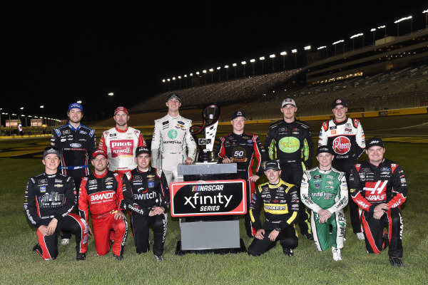 The 12 Xfinity Playoff drivers