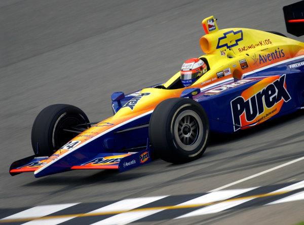 2003 IRL IndyCar Michigan International Speedway 7/25-7/27/2003, Brooklyn,Michigan USARobbie BuhlWorld Copyright-Walt Kuhn 2003 LAT Photographicref: Digital Image Only