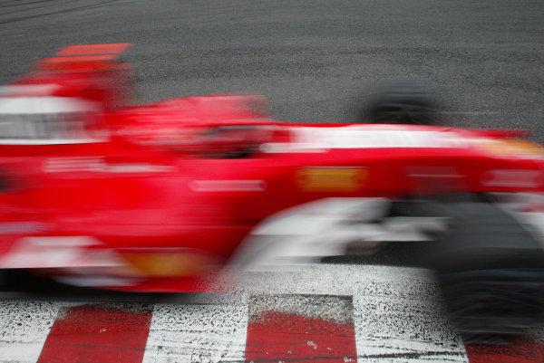 2004 Belgian Grand Prix - Friday Practice,Spa-Francorchamps, Belgium. 27th August 2004 Michael Schumacher, Ferrari F2004, action.World Copyright: Steve Etherington/LAT Photographic ref: Digital Image Only