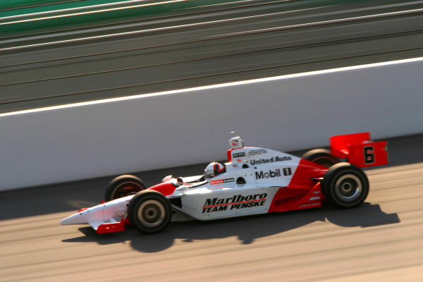 2003 IRL IndyCar Kansas, Kansas Speedway, Kansas City, Kansas, 4-6 July, 2003.Helio Castroneves.World copyright: Phillip Abbott/USA.LAT Photographic.