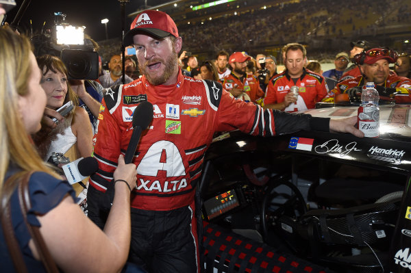 Monster Energy NASCAR Cup Series Ford EcoBoost 400 Homestead-Miami Speedway, Homestead, FL USA Sunday 19 November 2017 Dale Earnhardt Jr, Hendrick Motorsports, Axalta Chevrolet SS World Copyright: John K Harrelson LAT Images