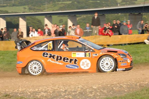 Round 10Rally Deutschland 200814th-17th August 2008Henning Solberg, Ford, actionWorldwide Copyright: McKlein/LAT