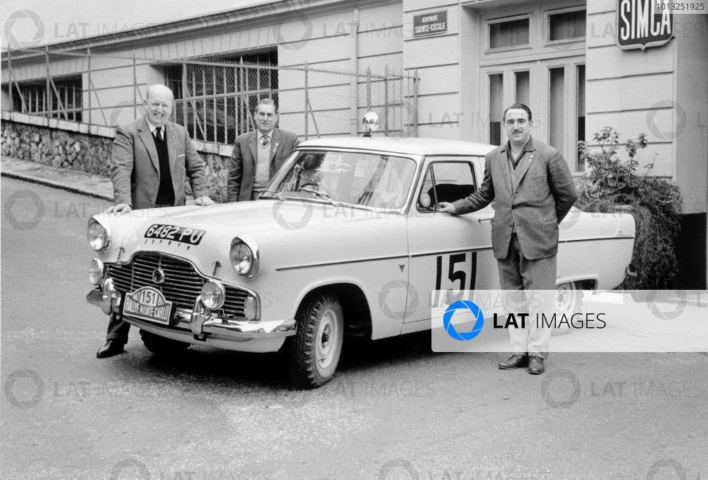1961 Monte Carlo Rally.