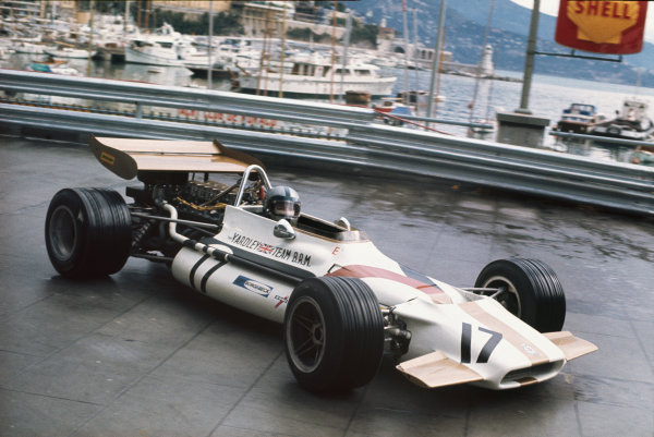Monte Carlo, Monaco. .7-10 May 1970.  Pedro Rodriguez, BRM P153, 6th position.  Ref: 70MON10. World Copyright: LAT Photographic