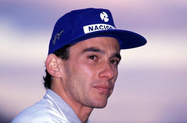 Ayrton Senna (BRA) McLaren. Formula One World Championship, Japanese Grand Prix, Suzuka, Japan, 30 October 1988.