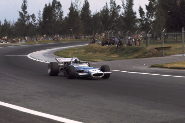 1969 Mexican Grand Prix.  Mexico City, Mexico. 17-19th October 1969.  Jean-Pierre Beltoise, Matra MS80 Ford, 5th position.  Ref: 69MEX10. World Copyright: LAT Photographic