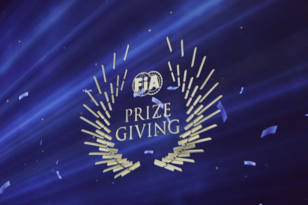 2013 FIA Gala Dinner and Awards. Paris, France. Friday 6th December 2013. FIA Prize Giving logo. World Copyright & Mandatory Credit: FIA. ref: Digital Image 11243515074_5d6665d820_o