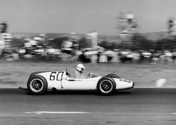 Watkins Glen, USA. 8th October 1961.Walter Hansgen (Cooper T53-Climax), retired, action. World Copyright: LAT Photographic.Ref:  10957A.