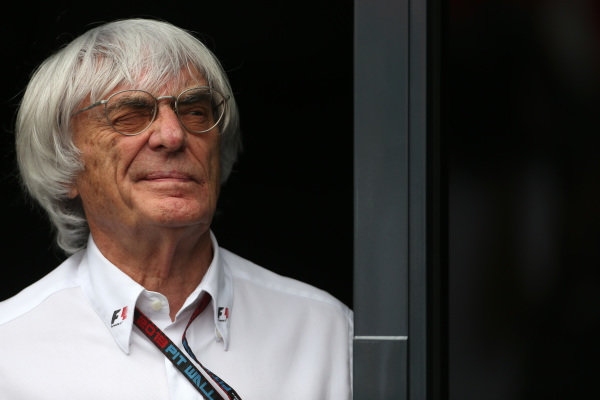 Bernie Ecclestone (GBR) CEO Formula One Group (FOM). Formula One World Championship, Rd9, German Grand Prix, Practice, Nurburgring, Germany, Friday 5 July 2013.