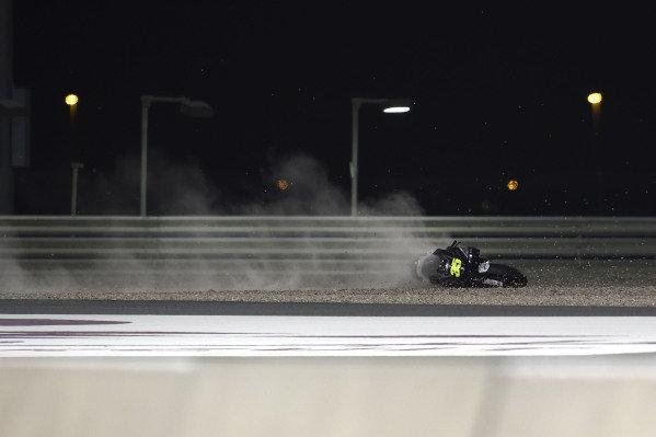 Crash of Cal Crutchlow, Team LCR Honda.