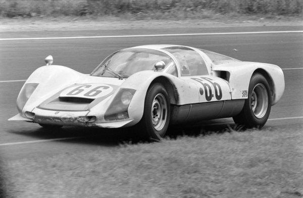 Christian Poirot / Gerhard Koch, Christian Poirot, Porsche 906.