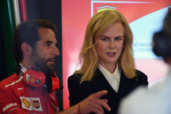 Nicole Kidman (AUS) at Formula One World Championship, Rd1, Australian Grand Prix, Qualifying, Albert Park, Melbourne, Australia, Saturday 25 March 2017.