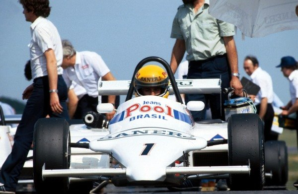 Ayrton Senna (BRA) West Surrey Racing Ralt Toyota RT3/83 was the series champion with twelve victories Ð nine of which came in the first nine rounds.  British Formula Three Championship, 1983.