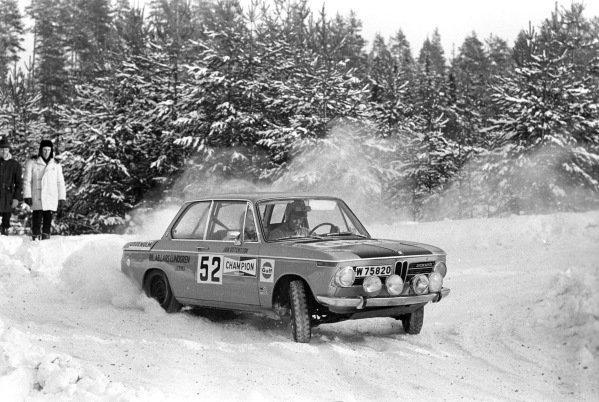 Arne Allanson / Jan Östensson, BMW 2002.