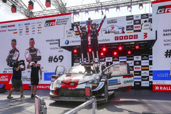 Kalle Rovanperä (FIN), Jonne Halttunen (FIN), Toyota Gazoo Racing WRT, Toyota Yaris WRC 2021