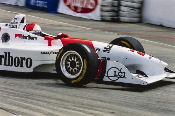 Al Unser Jr, Penske PC-27 Mercedes.