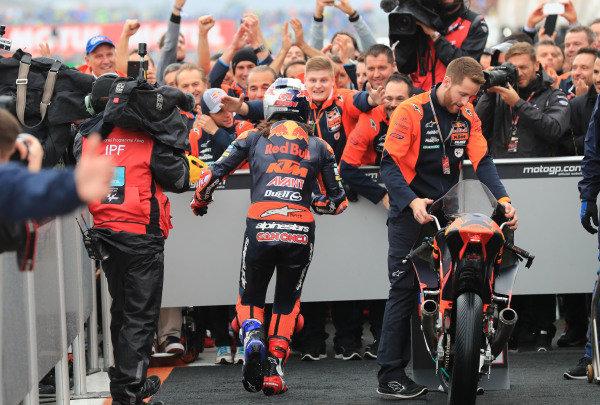 Race winner Can Oncu, Red Bull KTM Ajo .