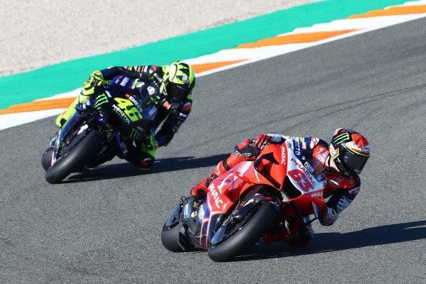 Francesco Bagnaia, Pramac Racing, Valentino Rossi, Yamaha Factory Racing.